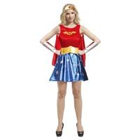 萬聖節變裝服/成人變裝服-超人服裝/無敵女超人-神力女超人服裝