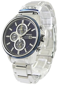 (SEIKO (Seiko import)) SEIKO watches SOLAR CHRONOGRAPH solar chronograph SSC253P1 Men s-