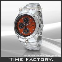 【時間工廠】全新原廠正品 SEIKO 太極系列三眼亮橘鬧鈴競速賽車錶 SNA761P1