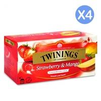 唐寧茶 草莓芒果(2gx25入)X4盒