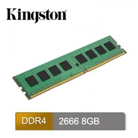 Kingston 8GB DDR4 2666 桌上型記憶體(KVR26N19S8/8)