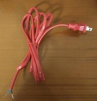 【靜福緣精品佛具】高級精品 燈材 6尺紅電線 (安檢合格)神明燈公媽燈佛燈祖先燈專用 宗教用品