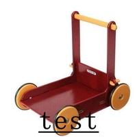 test新品免運丹麥 moover 嬰幼兒 天然木製手推車 學步車 可乘坐 限30kg