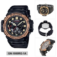 Casio G-SHOCK GULFMASTER Black Stainless-Steel Case Resin Strap Mens GN-1000RG-1A