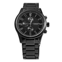 Curren 8046多錶盤防水商務鋼帶男士石英手錶