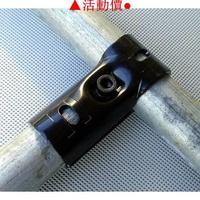 ▷爆品◁25mm圓管接頭鍍鋅管連接件6分管卡扣鋼管接頭鐵通固定夾