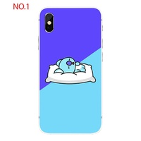 Cute BT21 print case for IphoneXS/IphoneXSMax/IphoneXR iPhone 5/5s/se iPhone 6/6s iPhone 6 plus/6spl