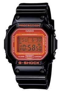 NEW CASIO G-SHOCK DIGITAL DW-5600CS DW-5600CS-1 BLACK ORANG