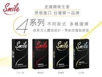 【MG】買一送一 Smile史邁爾-衛生套系列 超薄型 粗顆粒 3in1型 環紋型 保險套 避孕套