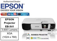 Epson EB-X41 Business Projector bundle with 64GB flash drive ** Free $20 NTUC Voucher + Epson Soft Carrying Case (Pre-Packed in Reail Packaging Box) Till 2nd Mar 2019 ** Epson EB X41 EBX41