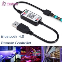 Wireless 5-24V RGB LED Strip Light Controller USB Cable Bluetooth 4.0 [Ifa]