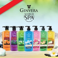 1+1+1 (bundle of 3) Package Ginvera SPA Body Shower Scrub 750ml Spa at home