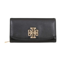 Tory Burch Britten Duo Envelope Continental Leather Wallet