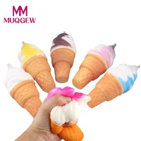 Dropshipping squishies toy squishy Antistress 10cm Ice Cream Simulation Cake Slow Rising Cellphone Straps Bread Toys Oyuncak #JD