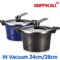 [Happycall] Happycall IH Vacuum Pressure 24cm/28cm StockPot Ceramic Coating Alumite Cookware