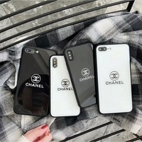 OPPO R9 R9S R11 R11S Plus Chanel Tempered Glass Case