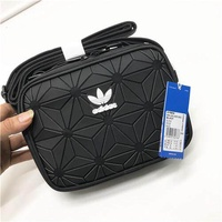 Adidas Official Shoulder Bags Adidas 3d Roll Top Discounted Bag Black