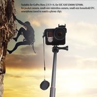 Andoer Telescopic Selfie Stick Handheld Monopod for Feiyu WG Stabilizer GoPro Hero  SJCAM SJ4000 SJ5