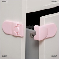 {miqin2}Baby Kids Infant Safety Cabinet Cupboard Door Fridge Wardrobe Drawer Lock