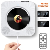 MINGER CD Player with Bluetooth, Govee Portable CD Player with Remote Control Wall Mountable CD Play