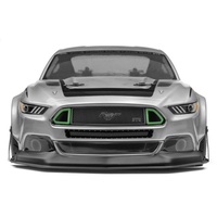 *TSR* HPI Racing 福特野馬Ford Mustang 1/10 遙控車甩尾/競速/飄移透明車殼 暴龜寬體