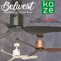 (2019 SPECIAL OFFER!!!) KAZE / KINO / ZINO Ceiling Fan  (FREE NTUC FAIRPRICE $5 VOUCHER)