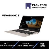 Asus Vivobook S S406UA-BM145T/i7-8th Gen/512GB SSD/14 FHD Display/8GB RAM/ 1 Year Asus Warranty/
