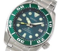 SEIKO PROSPEX Model SZSC004 SUMO 200m Diver Green