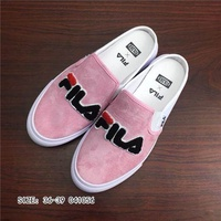 Fila Original Lazy Pink White High Quality Skate Shoes WOMEN