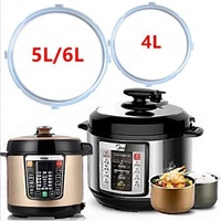 Instant Pot Silicone Sealing Ring 5-6 Quart Electric Pressure Cooker Seal Rings