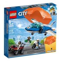 樂高LEGO 城市系列 - LT60208 航警降落傘追捕