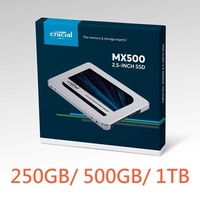 Crucial SSD 250GB 500GB 1TB SSD 7mm / 2.5 MX500 SATA3.0 / with 9.5mm Adapter★Direct from Japan★