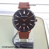 นาฬิกาข้อมือแบรนด์ Alexandre christie สายหนัง สีน้ำตาล ประกันสินค้า 1 ปี