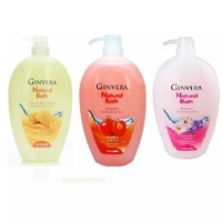[1+1] Deal! Ginvera Natural Bath Shower Gel 1000g