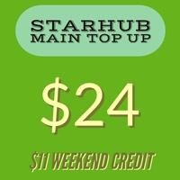 Starhub Prepaid $24 Main Account Top-up