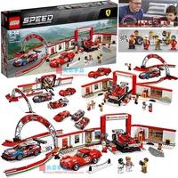 【一家積木】LEGO樂高75889賽車法拉利體驗中心法拉利250GTO/488GTE/312T4
