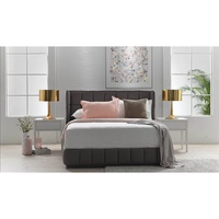 Milan Queen Size Bed Frame in Fabric Upholstery