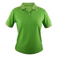 【遊遍天下】MIT台灣製女款抗UV涼爽吸濕排汗機能POLO衫S108綠