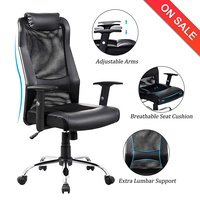 VANBOW High Back Mesh Office Chair Adjustable Arms Ergonomic Computer Desk Task Chair
