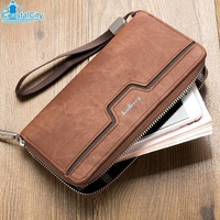 【COA】  8 CARD HOLDER FASHIONABLE MEN'S LONG WALLETS - A0192