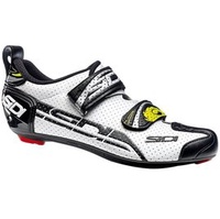 〝ZERO BIKE〞 Sidi T-4 Air 碳纖維 三鐵計時車 專業 卡鞋/車鞋 公路車/自行車/三鐵/計時 白黑色