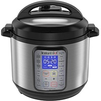 Instant Pot DUO Plus 60, 6 Qt 9-in-ulti- Use Programmable Pressure Cooker, Slow Cooker, Rice Cooker, Yogurt Maker, Egg Cooker, Sauté, Steamer, Warmer, and Sterilizer - intl