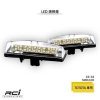 TOYOTA LEXUS 專用LED牌照燈 CAMRY PRIUS IS200 GS300