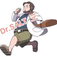 鹽博士 三代  3代  DR.SALT 香氛瓶貼紙  非 鹽語 爆脾氣