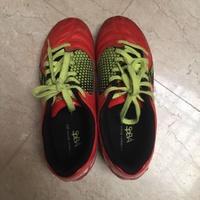 (降價囉!)Asics 亞瑟士二手男童足球鞋 (us 4 / 22.5cm)