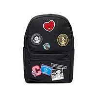 ▶$1 Shop Coupon◀  BT21 Official Merchandise by Line Friends - Wappen Backpack, Black