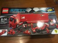 Lego speed 系列 75913法拉利貨櫃車