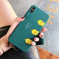 Shaking the same small yellow duck emerald mobile phone case for OPPO R9 R9S R11 R11S PLUS R15 R17 P