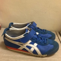 Asics 亞瑟士onitsuka tiger兒童款經典休閒鞋  足球鞋
