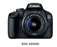 Canon 4000D 18-55 III Kit + 5 FREE GIFTS ( Tripod + 5 in 1 Cleaning Kit + 16GB SD Card + Gadget Bag + Filter )